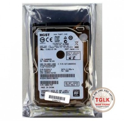 Ổ cứng laptop Hitachi 1TB-5400 rpm HDD