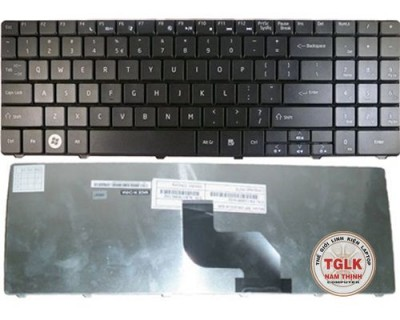 Bàn phím keyboard Acer Gateway NV58, NV53, NV54, NV56 (Black)