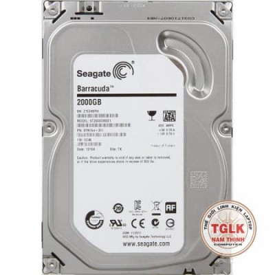 "Ổ cứng HDD Seagate 2.5"" 1TB 7200RPM"