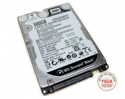 Western Digital Black 500GB - 7200rpm - 16MB Cache - Sata